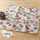 日本毛巾 : 和的風物詩_小紋菊 30*30 cm (手巾 和服風雅 -- taoru 日本毛巾)