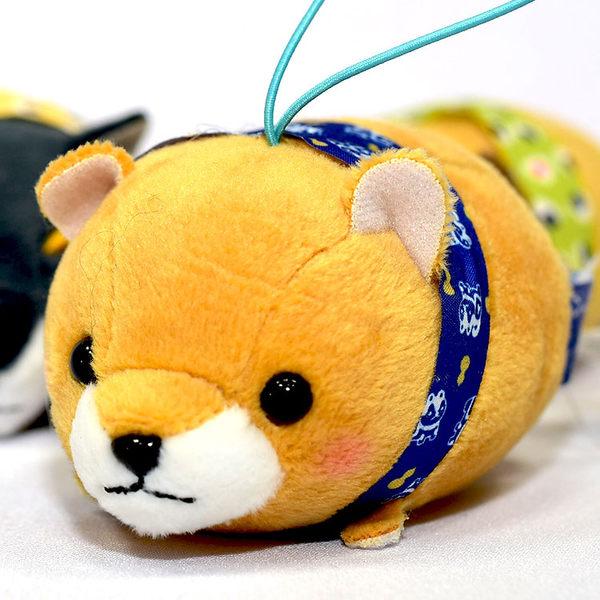 柴犬三兄弟 小偶 吊飾 長男豆太郎 日本帶回正版商品