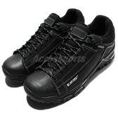 HI-TEC Trail OX Low Chukka I WP 拓荒者 黑 全黑硬派 男鞋 戶外運動鞋 重機 生存遊戲 【PUMP306】 O005706021