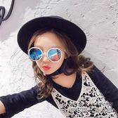 兒童太陽鏡寶寶墨鏡眼鏡防紫外線1-3男女童潮眼鏡框可愛1-2歲個性