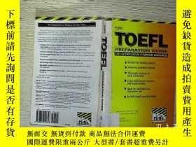 二手書博民逛書店CLIFFS罕見TOEFL (06)Y203004