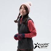 PolarStar 女 刷毛保暖背心『黑』P18244 戶外 休閒 登山 露營 保暖 禦寒 防風 刷毛