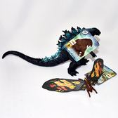 哥吉拉 酷斯拉 Godzilla 摩斯拉 2019電影版本軟膠 日本帶回 BANDAI 兩隻一起賣
