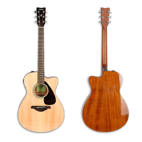 小叮噹的店- YAMAHA 單板吉他 FSX800C 41吋 電木吉他 民謠吉他 附EQ 贈教學影片(FSX800C)