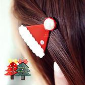 聖誕快樂造型迷你髮夾 耶誕節 髮飾