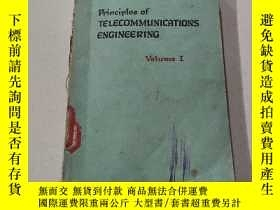 二手書博民逛書店The罕見principles of TELECOMMUNICATIONS ENGINEERING:電信工程原理(