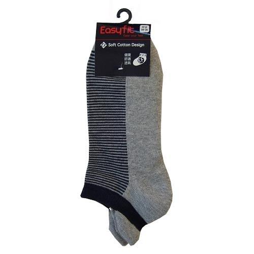 EF 護裸運動襪-灰(22~24cm)【愛買】