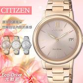 【公司貨5年延長保固】CITIZEN 星辰表 Eco-Drive 光動能 32mm 防水 女錶 FE6093-87X