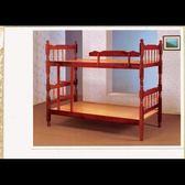 【石川傢居】YU-267-2 (302)紅木4尺雙層床 (不含床墊及其他商品) 台北至高雄滿三千搭車趟免運