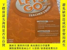 二手書博民逛書店Let s罕見Go: 5: Teacher s Book With Test Center Pack 帶光盤Y