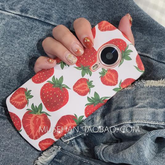 夏日水果少女繪畫美圖M6/T8s/T8手機殼M8s全包軟殼保護套潮女款M6  LannaS