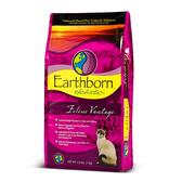 寵物家族-Earthborn原野優越天然糧-室內貓配方(雞肉+蘋果+蔓越莓)6.3kg