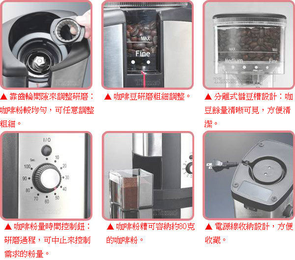 《團購優惠+贈咖啡豆+清潔刷》Tiamo FP2506S 頂級錐刀 磨豆機 ( HG0222 )
