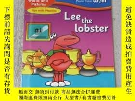 二手書博民逛書店Lee罕見the lobster(Words and Pictu