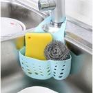 廚房洗蔬菜盆瀝水籃子掛壁水槽置物架收納盒水龍頭通用大小可調節