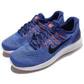 【五折特賣】Nike 慢跑鞋 Lunarglide 8 藍 黑勾 白底 避震透氣 運動鞋 男鞋 【PUMP306】 843725-403