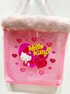 【震撼精品百貨】凱蒂貓_Hello Kitty~日本SANRIO三麗鷗 KITTY 防水手提袋/迷你提袋-粉心#28636