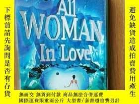 二手書博民逛書店AII罕見AOMAN IN LOVE磁帶Y3331 貴州文化音像