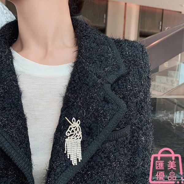獨角獸胸針女胸花氣質領口針百搭服裝飾品【匯美優品】