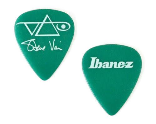 【敦煌樂器】IBANEZ 1000SVGR 1.0mm 吉他彈片 綠色款【十片包裝】
