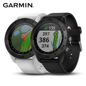 GARMIN Approach S60 中文GPS高爾夫球錶 矽膠錶帶紳士黑