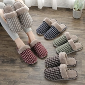 毛毛拖鞋棉拖鞋女士秋冬季情侶家居家用保暖厚底防滑室內毛毛月子鞋冬天男 新年特惠