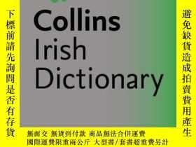 二手書博民逛書店Irish罕見Dictionary (Collins GEM)柯林斯愛爾蘭語詞典,愛爾蘭語原版Y449990