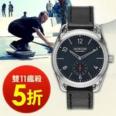 【雙11瘋搶5折! 】NIXON A459-008 THE C39 LEATHER 復古時尚 現貨!
