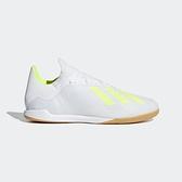 ADIDAS X 18.3 IN [BB9393] 男鞋 足球 輕巧 速度 舒適 低筒 愛迪達 白黃