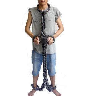 鬼節裝飾萬聖節道具表演用品 cosplay 頭鏈+手鏈+腳鏈條