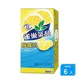 雀巢茶品檸檬茶300ml*6入【愛買】