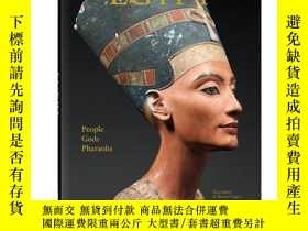 二手書博民逛書店Egypt:罕見People, Gods, Pharaohs,埃