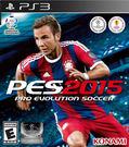 PS3 Pro Evolution Soccer 2015 世界足球競賽 2015(美版代購)