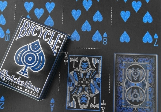 【USPCC 撲克】Bicycle Quick silver Playing Cards 多變撲克牌