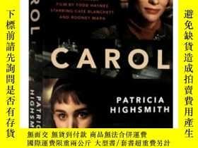 二手書博民逛書店卡羅爾罕見鹽的代價 卡蘿爾 Carol Film Tie-in