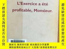 二手書博民逛書店L'Exercice罕見a été profitable, Mo