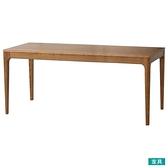 ◎實木餐桌 VIK 180 柚木色 梣木 NITORI宜得利家居