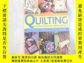 二手書博民逛書店英文原版:the罕見ultimate book of quilting...內精美織物飾物圖片!051205Y