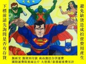 二手書博民逛書店英文原版罕見少兒繪本 I Can Read! Justice League: Meet the Justice L
