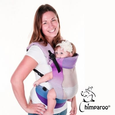 加拿大 Chimparoo Trek Air-O 透氣嬰兒揹帶 - 紫晶