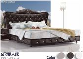 【德泰傢俱工廠】9909型6尺雙人床 家具