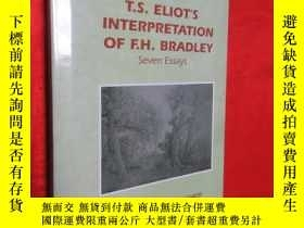 二手書博民逛書店T.S.罕見Eliot s Interpretation of