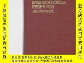 二手書博民逛書店免疫化學及免疫學研究方法罕見英文版methodology of