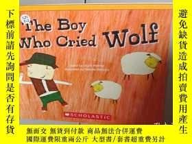 二手書博民逛書店The罕見boy who cried wolfY12498