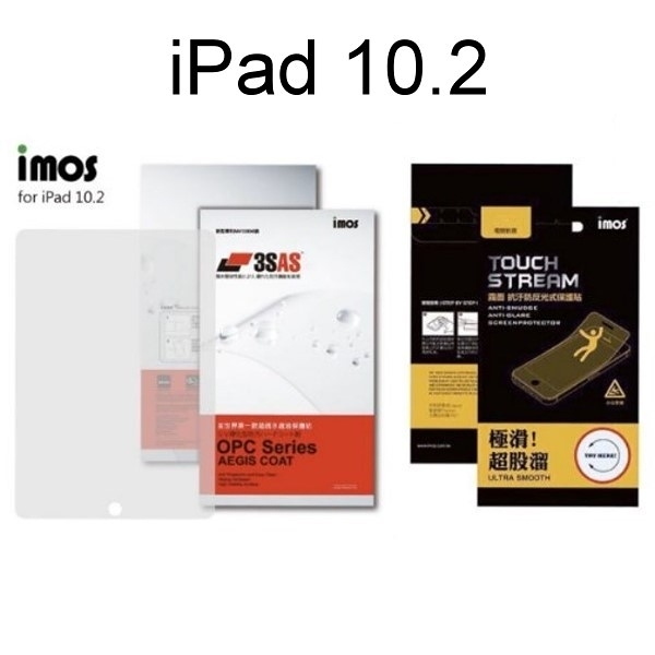 【iMos】3SAS 亮面 霧面電競 iPad 10.2 雷射切割 完美貼合