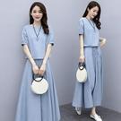 棉麻洋裝 棉麻連身裙女夏2021夏裝新款女裝夏天顯瘦長裙氣質套裝裙子兩件套 伊蘿