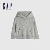 Gap男幼童 活力亮色連帽休閒上衣 661675-淺灰色