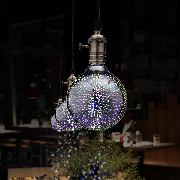聖誕節裝飾品 LED 3D 裝飾燈泡球泡 慶典裝飾必備  402