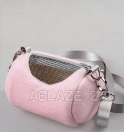 【培菓寵物48H出貨】ABLAZE ZAI》倉鼠 老公公鼠 小動物外出背包 提包12*7CM