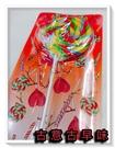古意古早味 大圓圈圈棒(長26x直徑10cm/ 隨機顏色/ 70g±10g) 大支棒棒糖 超大棒棒糖 彩色棒棒糖